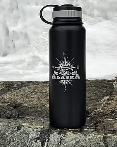 Insulated Alaska Water Bottle #alaska #gifts #travelgifts
