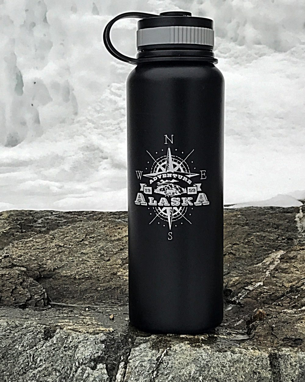 Insulated Alaska Water Bottle