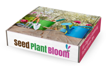 Seed Plant Bloom Organic Gardening Subscription Box #gardening #subbox #subscriptionbox #garden #garden lover