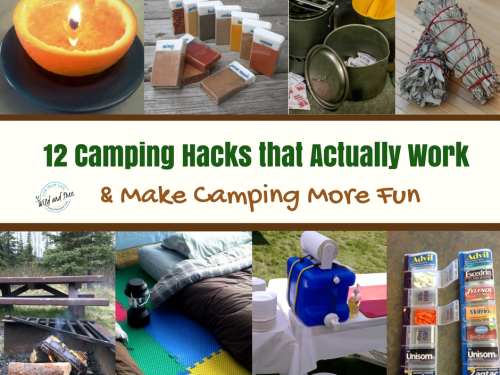 Camping Hacks that Actually Work
