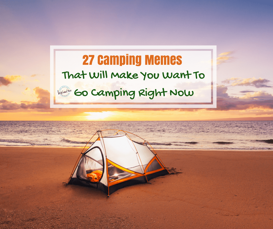 27 Camping Memes that will make you want to go camping right now #camping #memes #funny
