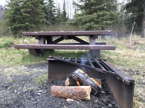 Campfire Hack with Fire Log