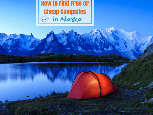 How to Find Free or Cheap Campsites in Alaska FB