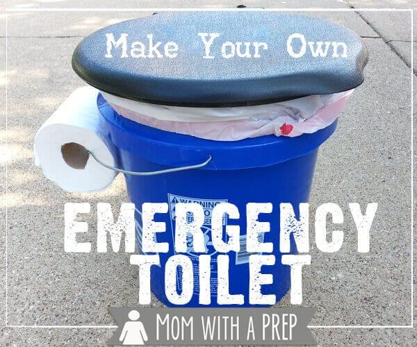 Emergency Camping Toilet #camping #campinghacks #campinglife