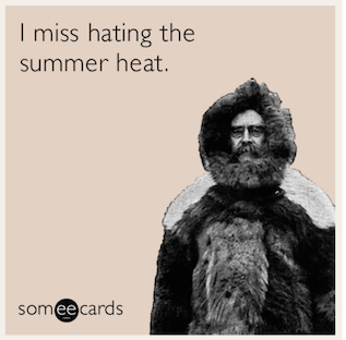 I miss hating the summer heat #neverhappy #fall #autumn #fallmemes #memes
