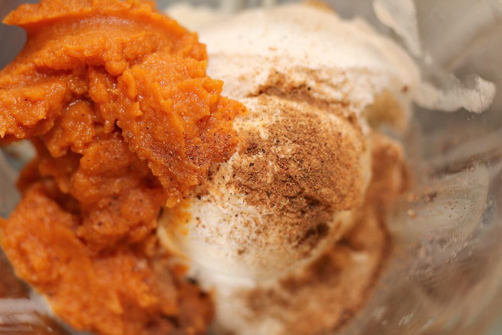 Keto Pumpkin Milkshake Ingredients