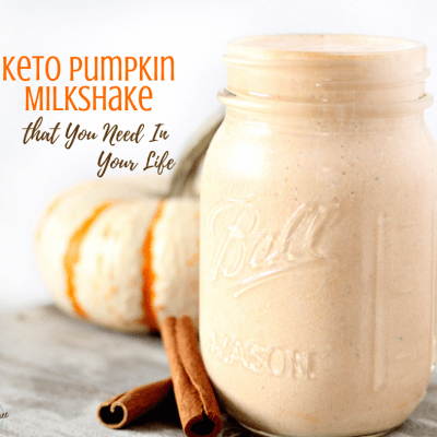 Keto Pumpkin Milkshake that You Need In Your Life