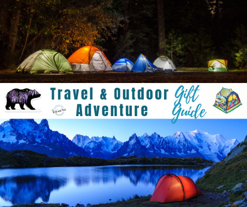 Travel & Adventure Gift Guide #giftguide #travelgiftguide #travelgiftideas
