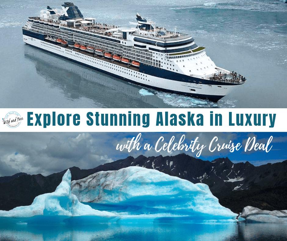 Explore Stunning Alaska in Luxury with Celebrity Cruises #alaskacruise #alaskacruisedeals #celebritycruises
