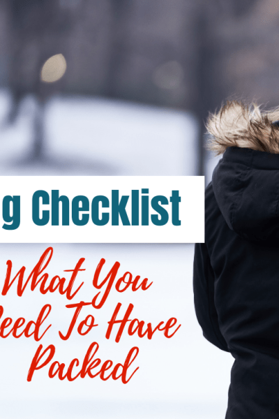 Go Bag Checklist - What You Need To Have Packed in your Go Bag #gobag #bugoutbag