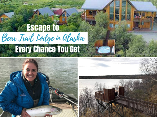 Escape to Bear Trail Lodge in Alaska Every Chance You Get #hotelreview #alaskalodge #travelalaska #alaska