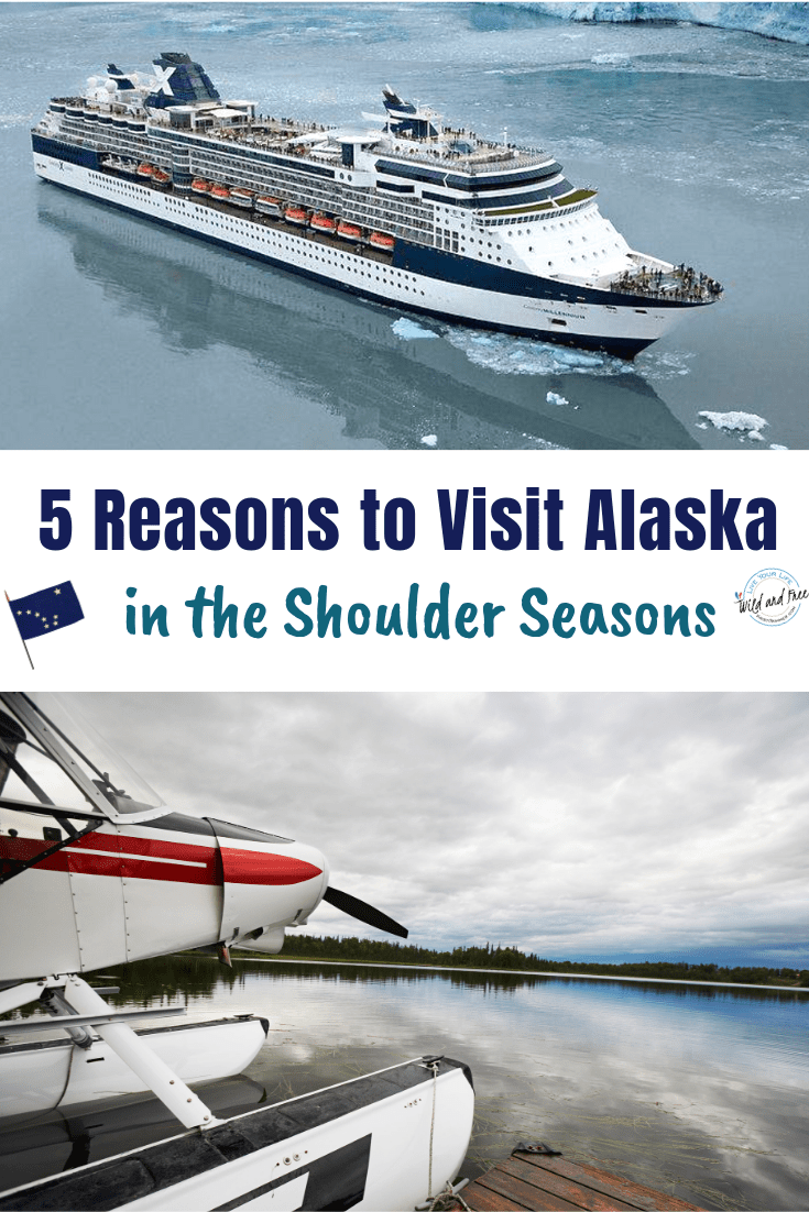 5 Reasons to Visit Alaska in the Shoulder Seasons #alaska #travelalaska #visitalaska