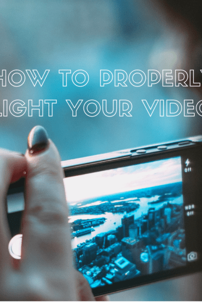 How to Properly Light Your Videos #videos #videoproduction
