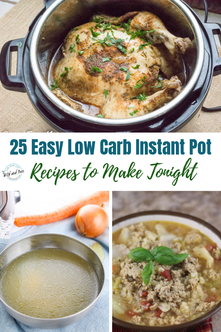 25 Easy Low Carb Instant Pot Recipes to Make Tonight #lowcarb #instantpot #ketorecipes