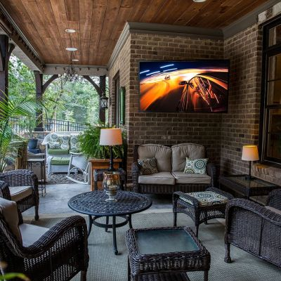 The SunBriteTV is the Perfect TV for your Outdoor Living Spaces