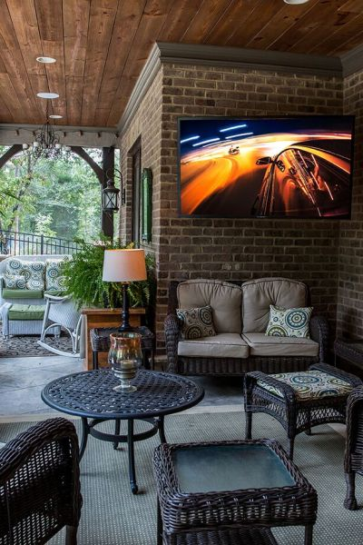 Outdoor TV that is waterproof
