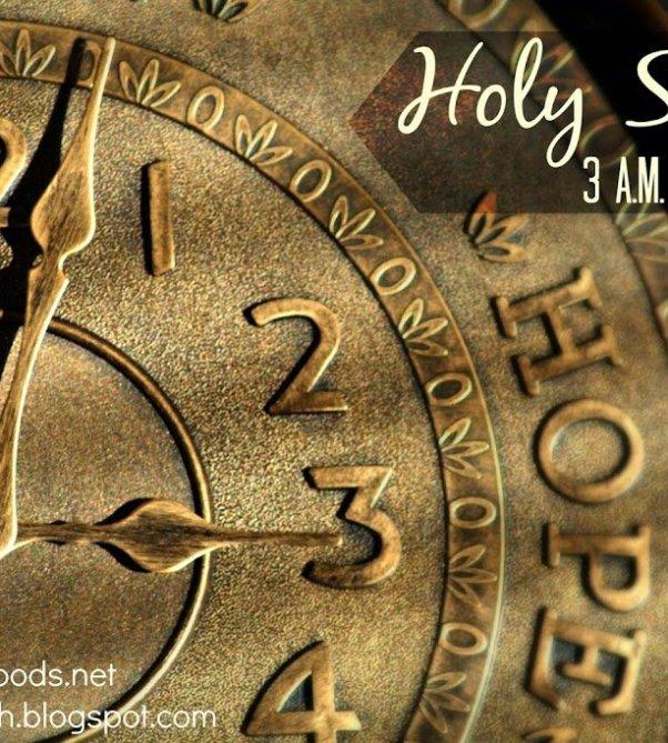 Holy Spirit 3 A M Kristi Woods
