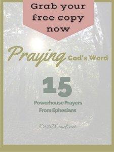 Praying God's Word Cover 300x400