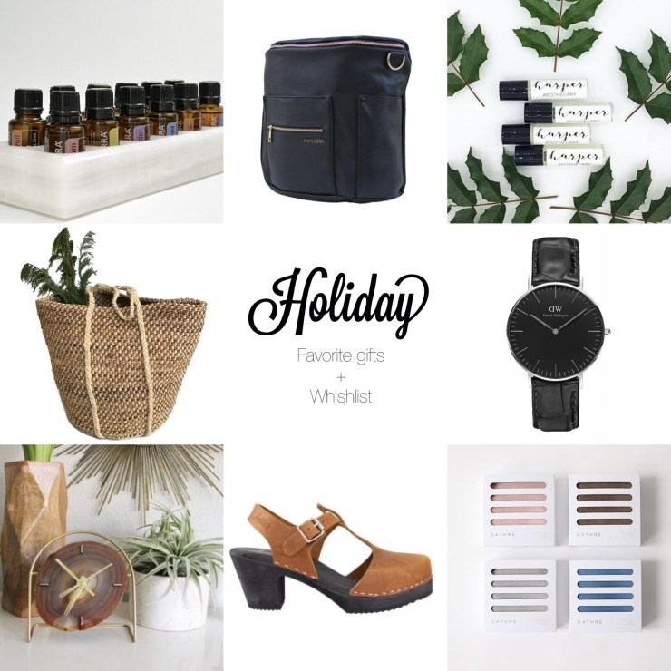 Holiday Season 2016 Favorite Gifts and Wishlist