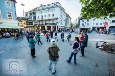 Erste Kulturnacht Lörrach - Weil am Rhein 2016 - kulturnachtlöwe