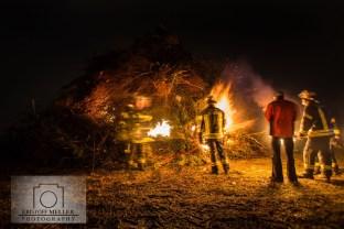 Fasnachtsfeuer 2017 Tüllingen / Lörrach