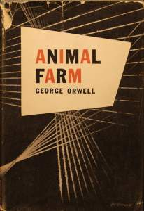 Animal Farm Geometric - George Orwell - My First Read - Kristopher Cook Book Review