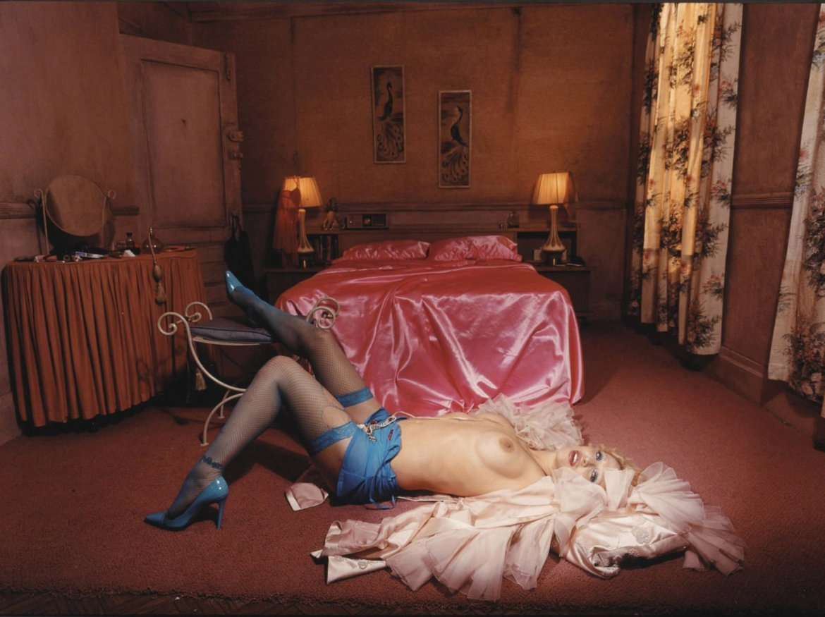 Heaven To Hell (Courtney Love) by David LaChapelle and its comparisons to Snuff by Chuck Palahniuk
