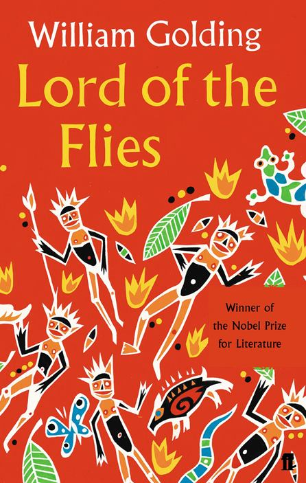 Lord of the Flies by William Golding Book Cover