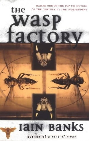 The Wasp Factory by Iain Banks Book Cover