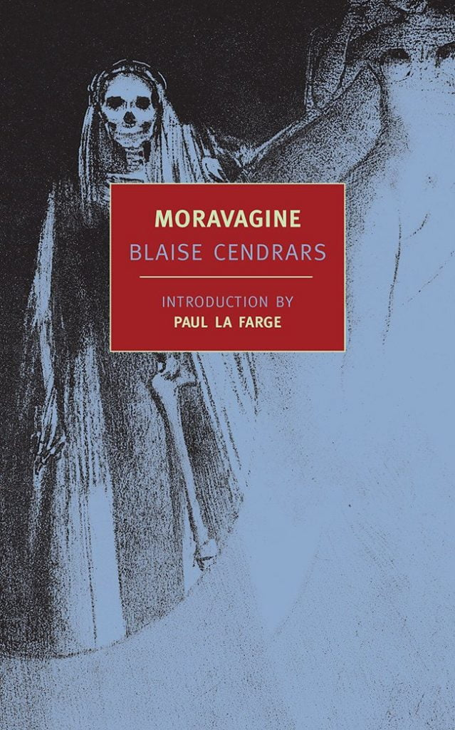 Moravagine by Blaise Cendrars Book Cover