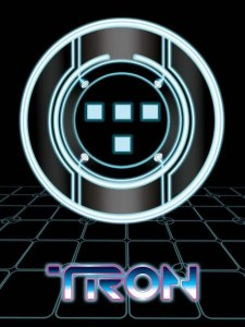 Tron Fan Art Poster