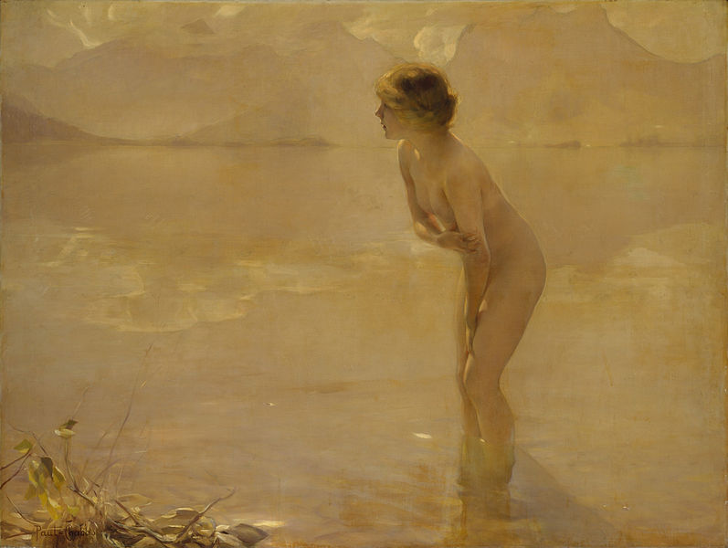 """September Morn"" by Paul Chabas"