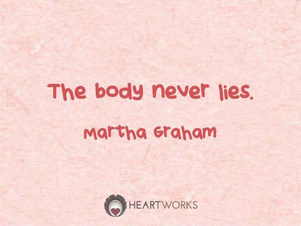 body-never-lies