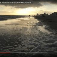 Orange Beach Sunset: an Attention Restoration Meditation (1 minute)