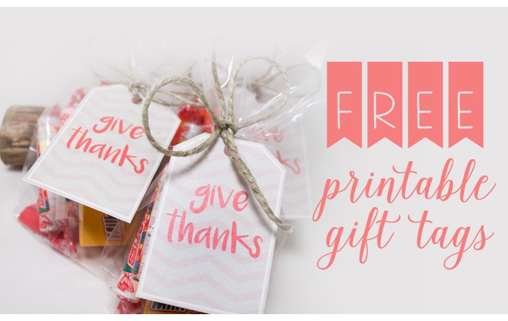 Free Printable Thanksgiving Tags