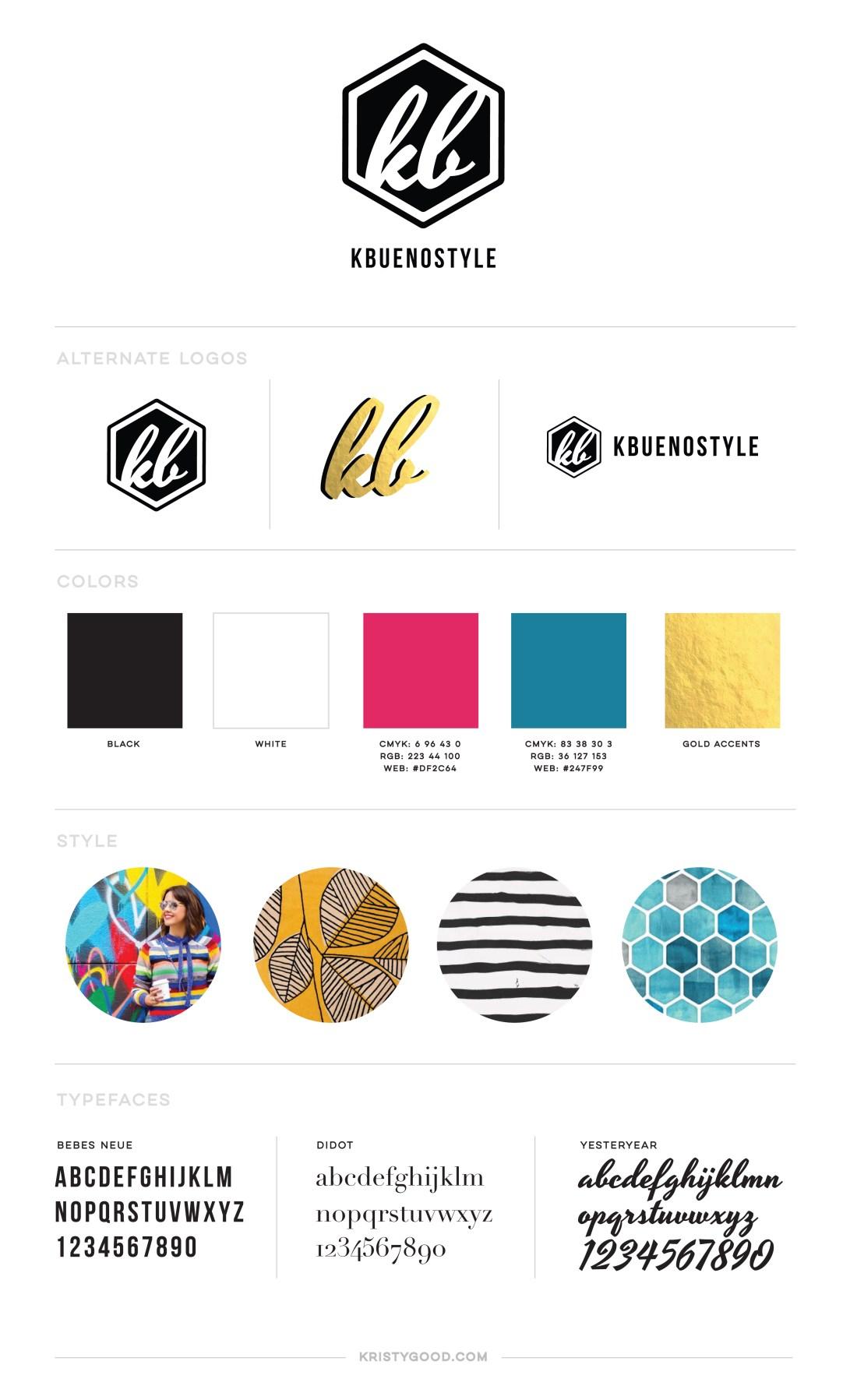 kbuenostyle branding guide