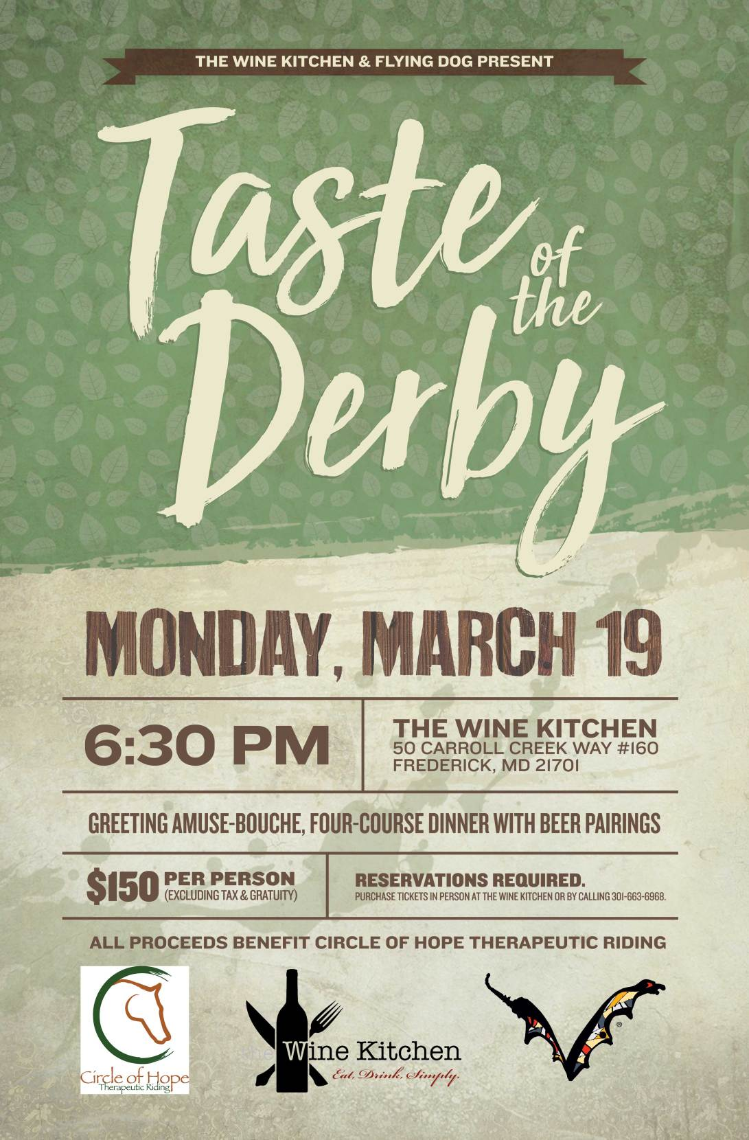 Taste of the Derby poster