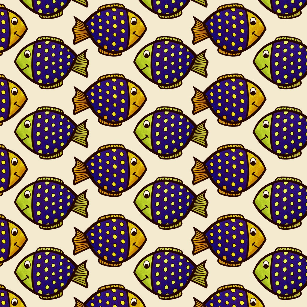 Tropical Fish Pattern - Kristy Good