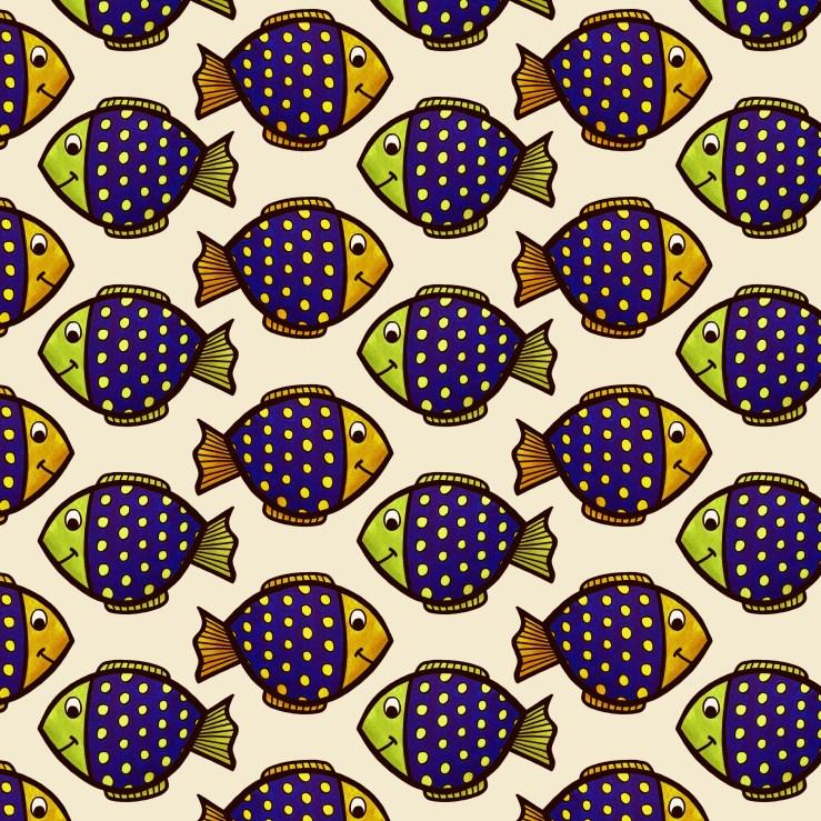 Tropical Fish Pattern - Kristy Good