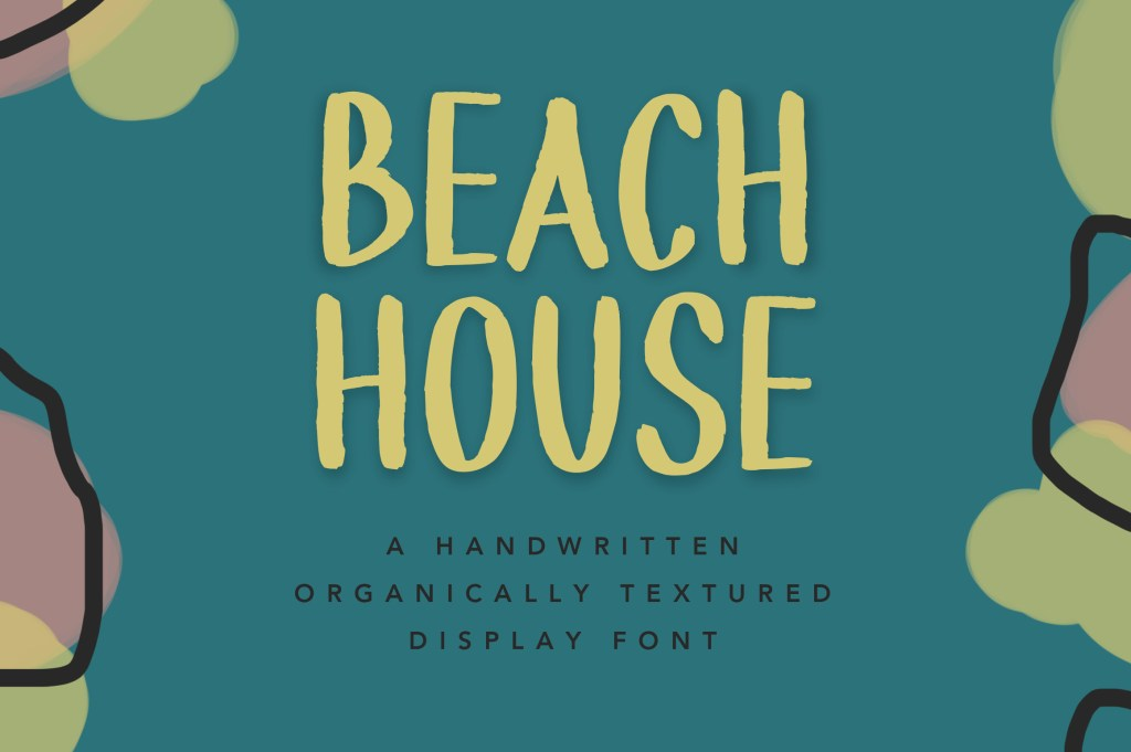 Beach House font by Kristy Good