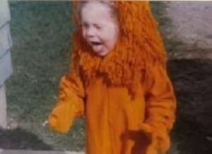 Kristy K. James - lion costume