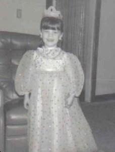 Kristy K. James - princess costume
