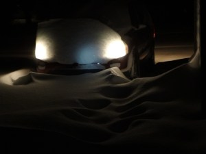 Kristy K. James 1-5-14 snowstorm 3 a.m.