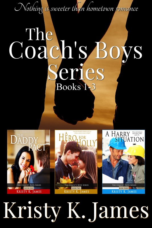 The Coach's Boys Series, Books 1-3: Nothing is Sweeter than Hometown Romance