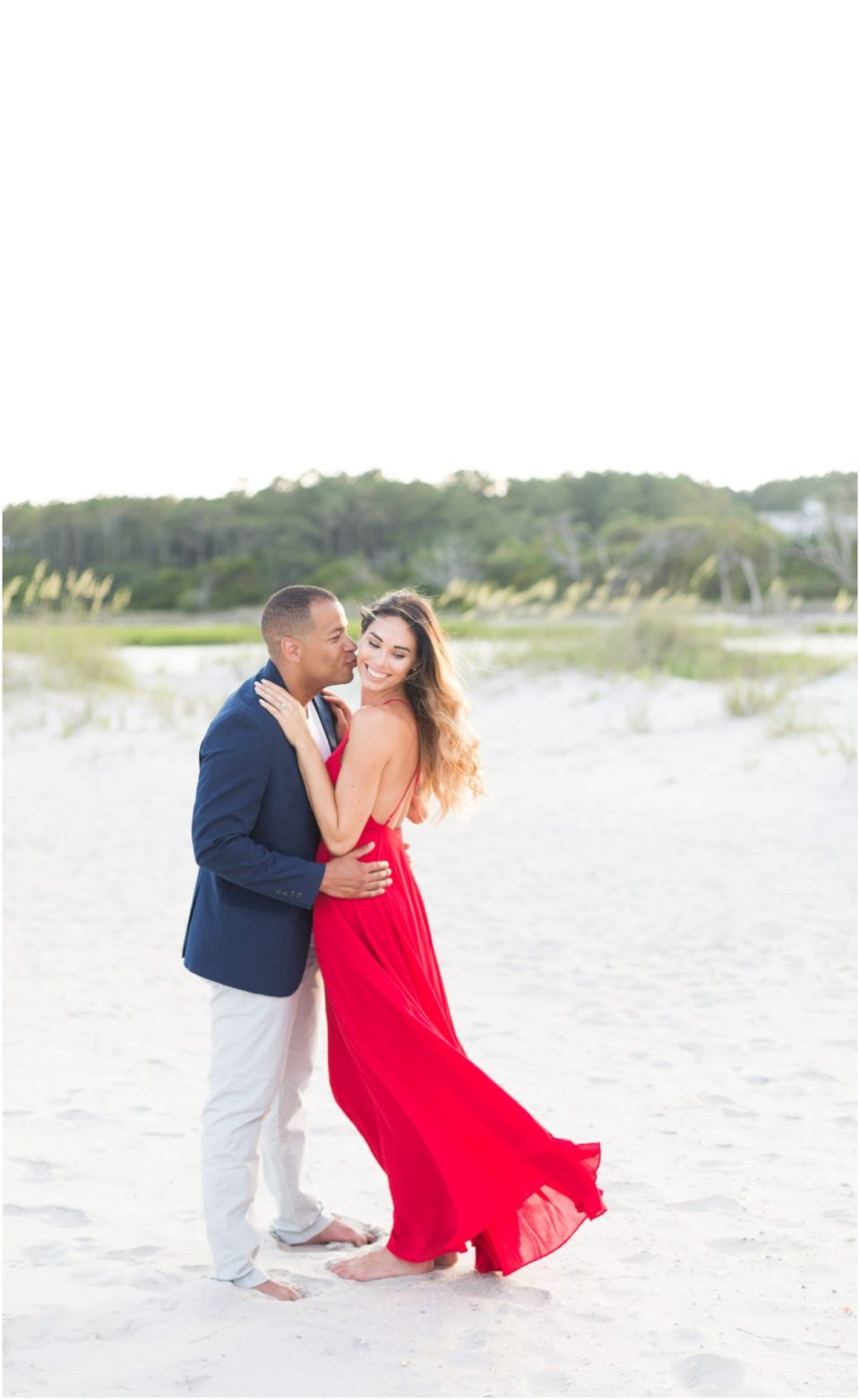 Romanic Pawleys Island Engagement Session