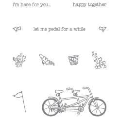 Peddle Pusher stamp set