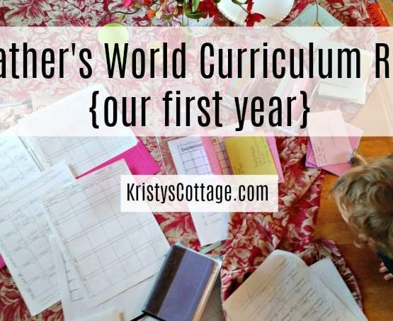 My Father's World Curriculum Review {our first year} | Kristy's Cottage blog