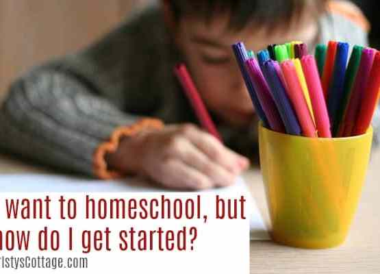 I Want to Homeschool, but How Do I Get Started? | Kristys Cottage blog