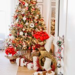 Red White New England Style Christmas Tree Kristywicks Com