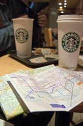 maps and starbucks